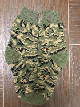 Ангорові чоловічі носки камуфляж хакі