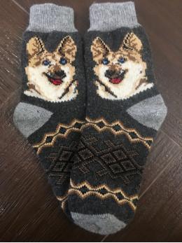 Ангорові чоловічі носки вівчарка
