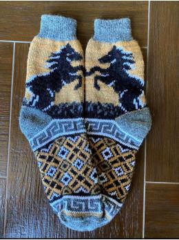 Ангорові чоловічі носки кінь