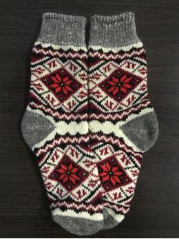 Ангорові жіночі носки вишивка київська